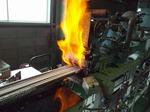 阪和熱工へ見学