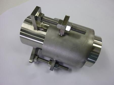 外筒式ベローズ伸縮管