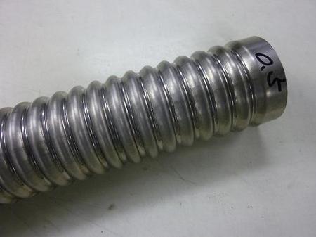 チタン製フレキシブルチューブ(パイプ支給)