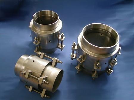 高圧ガス設備の極低温配管用ベローズ伸縮管
