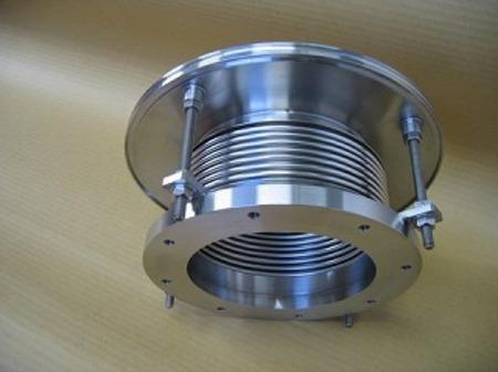 理化学研究所に納入した金属ベローズ伸縮管
