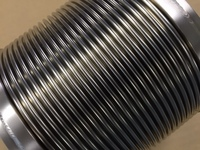 耐熱用 インコネル製多層ベローズ伸縮管