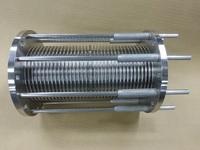 厳しい精度を要求されたガイドパイプ付ベローズ伸縮管