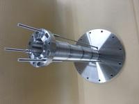 水素ガスに使われるガイドボルト付ベローズ
