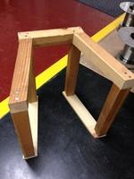 余った木材で治具を作ってみました。