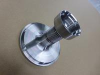 液化ブタンの配管に使われる安全弁用ベローズ(2層ベローズ)