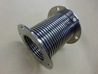 電解研磨を施した板厚0.2mmのチタン製ベローズ 東京ビックサイトで初公開