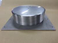 面間180mmで-100mmの縮量に対応できる250Aのベローズ伸縮管