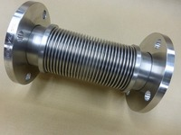 700℃の熱風配管で使われるインコネル製ベローズ伸縮管