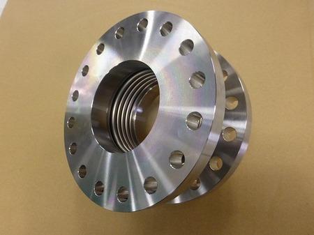 インコネル製 3層ベローズ伸縮管 製作実績 三元ラセン管工業株式会社