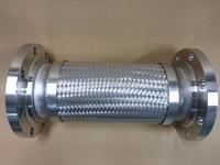 液体窒素のプラント配管に使われるフレキシブルチューブ