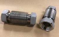 水素ガスのプラント設備に組み込まれるベローズ